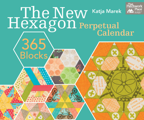 New Hexagon Perpetual Calendar - Free-Motion Ideas from Katja Marek