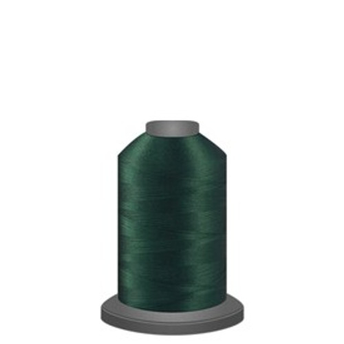 Glide - Totem Green - 60350 - Spool - 1100 yds - Trilobal Poly No. 40 Embroidery & Quilting Thread