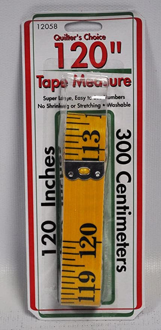 120in Yellow Tape Measure