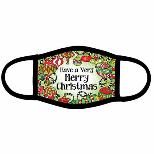"""""""Have A Very Merry Christmas"""" - Fabric Face Masks Designed by Suzy Toronto"""