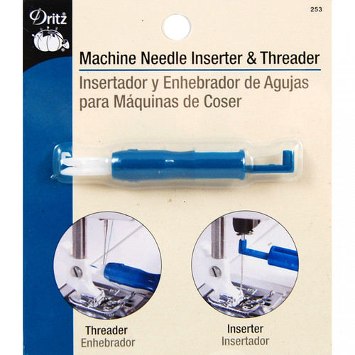 Sewing Machine Needle Inserter and Threader