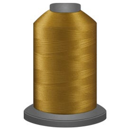 Glide - Dijon - 21245 - Cone - 5500 yds - Trilobal Poly No. 40 Embroidery & Machine Quilting Thread