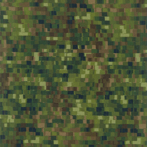 "Ombre Squares Olive 108"" Cotton Wide Back Quilt Fabric"