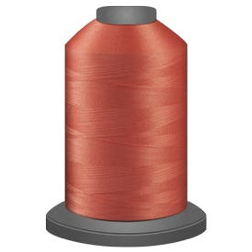 Glide - Salmon - 50170 - Cone - 5500 yds - Trilobal Poly No. 40 Embroidery & Machine Quilting Thread