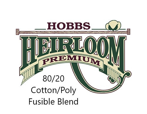 Heirloom Premium 80/20 Fusible Cotton/Poly Blend Iron-On Batting
