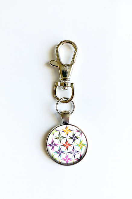 """Fiesta"" by Studio 180 Scissor Fob with Swivel Clip Keychain"