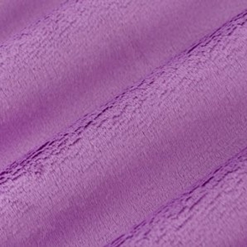 "Mauve 60"" Solid Minky Cuddle Fabric"