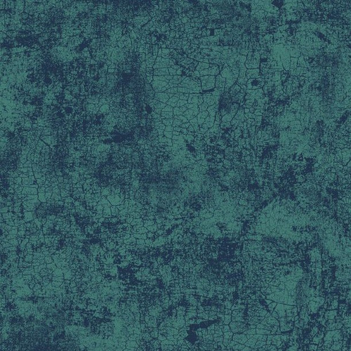 """Crackle Teal 108"""" Cotton Wide Back Quilt Fabric"""