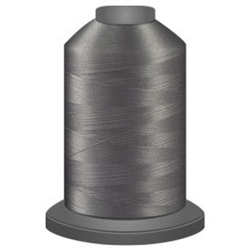 Glide - Sterling - 10877 - Cone - 5500 yds - Trilobal Poly No. 40 Embroidery & Machine Quilting Thread