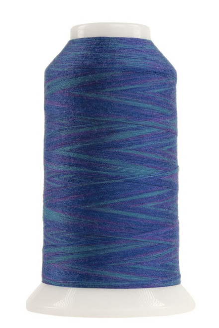 OMNI-V - 9028 - Caspian Sea - Cone - 2000 yds - Poly-wrapped Poly Core Machine Quilting Thread