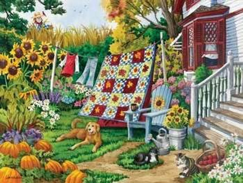Country Autumn 500 Piece Puzzle