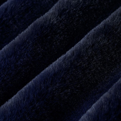 """Ink 60"""" Solid Minky Cuddle Fabric"""