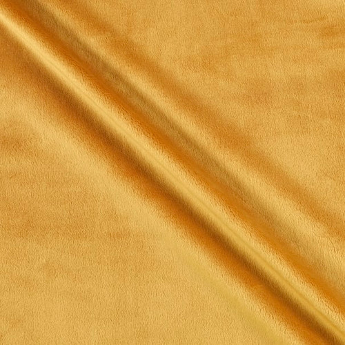 """Golden 90"""" Solid Minky Cuddle Wide Back Fabric"""