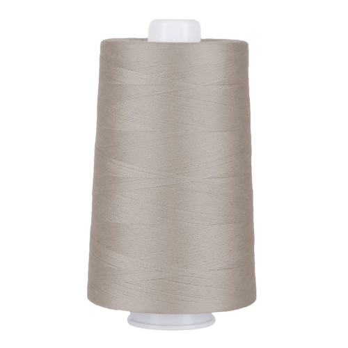 OMNI - 3019 - Bright White - Cone - 6000 yds - Poly-wrapped Poly Core Serging & Machine Quilting Thread