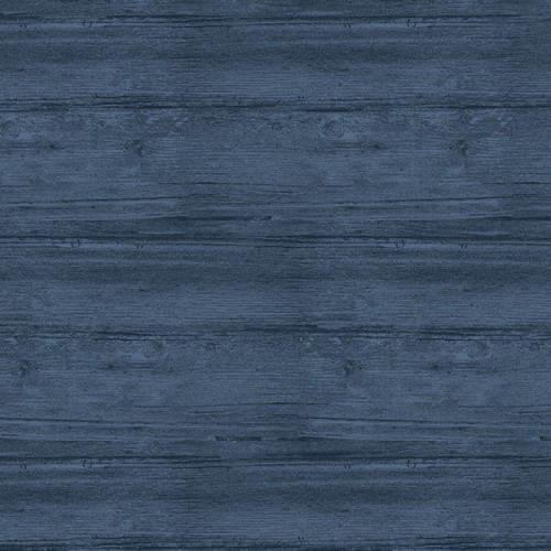 """Washed Wood Harbor Blue 108"""" Flannel Wide Back Quilt Fabric"""