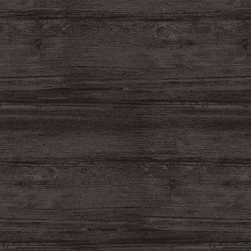 """Washed Wood Gunmetal 108"""" Flannel Wide Back Quilt Fabric"""