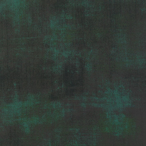 "Grunge Christmas Green 108"" Cotton Wide Back Quilt Fabric by Moda Fabrics"