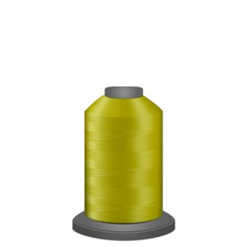 Glide - Lemon - 80101 - Spool - 1100 yds - Trilobal Poly No. 40 Embroidery & Quilting Thread