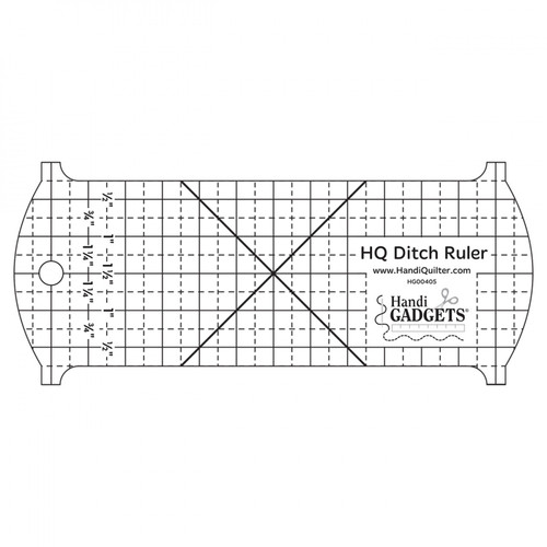 Ditch Ruler from Handi Quilter