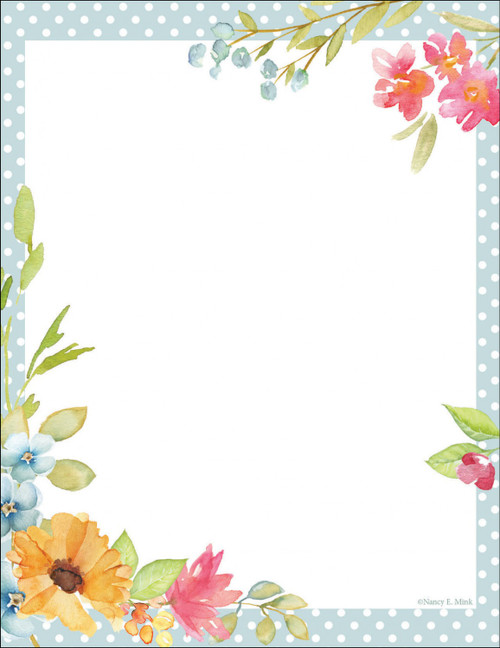Poppy Floral Memo Notepad