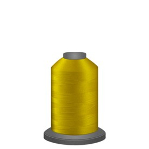 Glide - Bright Yellow - 80108 - Spool - 1100 yds - Trilobal Poly No. 40 Embroidery & Quilting Thread