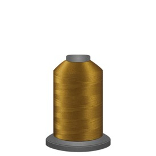 Glide - Honey Gold - 80125 - Spool - 1100 yds - Trilobal Poly No. 40 Embroidery & Quilting Thread