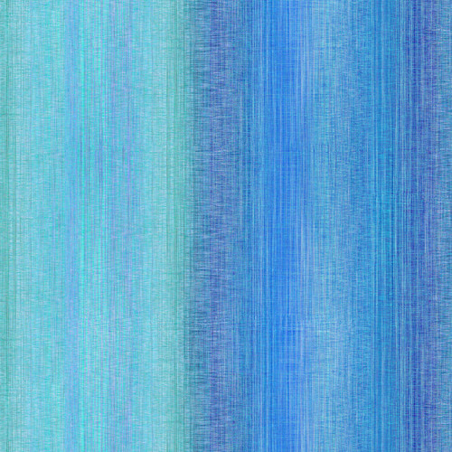 """Ombre Light Turquoise - Digital Print - 108"""" Cotton Wide Back Quilt Fabric"""