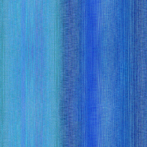 """Ombre Turquoise - Digital Print - 108"""" Cotton Wide Back Quilt Fabric"""