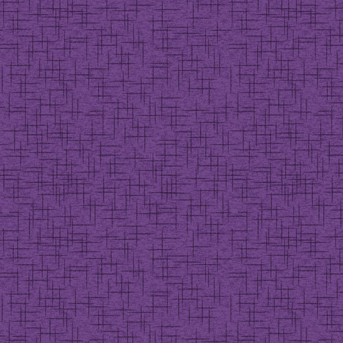 """Linen Texture Purple 108"""" Cotton Wide Back Quilt Fabric by KimberBell Designs"""