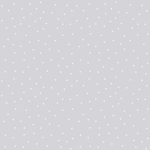 """Tiny Dots on Gray - 108"""" Cotton Wide Back Quilt Fabric by KimberBell Designs"""
