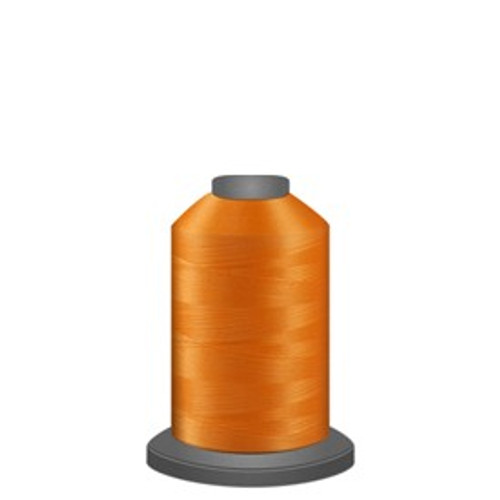 Glide - Tangerine - 91375 - Spool - 1100 yds - Trilobal Poly No. 40 Embroidery & Quilting Thread