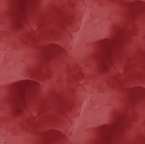 """Watercolor Texture Red - 108"""" Cotton Wide Back Quilt Fabric  by Stephanie Ryan"""
