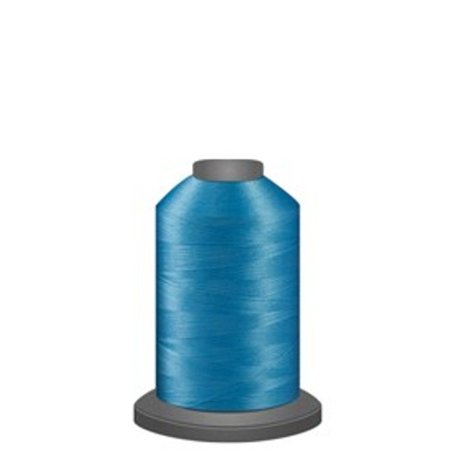Glide - Dark Aqua - 92985 - Spool - 1100 yds - Trilobal Poly No. 40 Embroidery & Quilting Thread