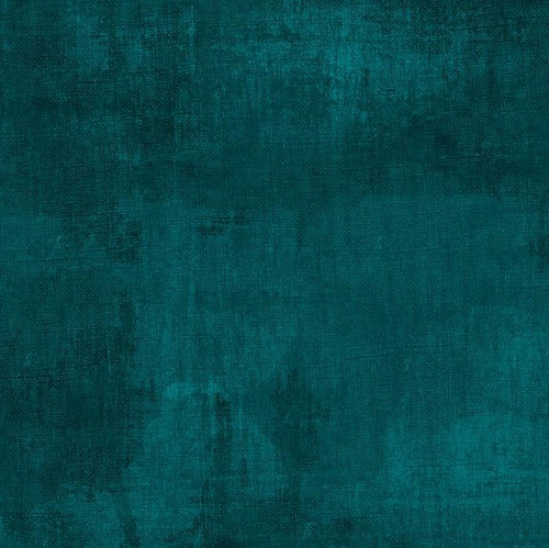 """Dry Brush Dark Teal 108"""" Cotton Wide Back Quilt Fabric Designed by Danhui Nai"""