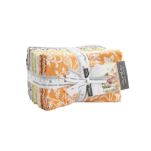 """Pumpkins & Blossoms - 9"""" x 22"""" x 38 Precuts Bundle  - Floral/Fall Collection Designed by Fig Tree & Co."""