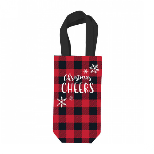 Christmas Cheers Wine Gift Bag - Designed by Viv & Lou