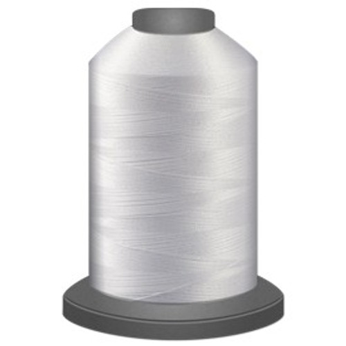 Glide - Super White - 10002 - Cone - 5000 yds - Trilobal Poly No. 40 Embroidery & Quilting Thread