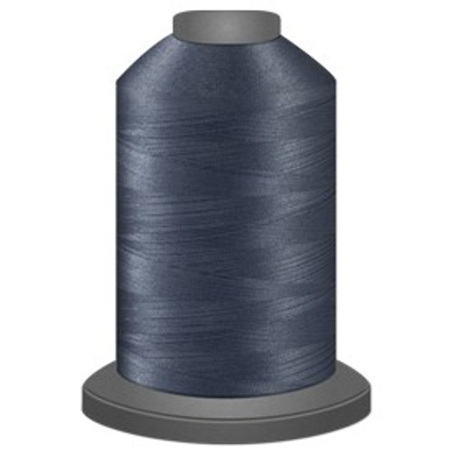 Glide - Titanium - 10431 - Cone - 5000 yds - Trilobal Poly No. 40 Embroidery & Quilting Thread