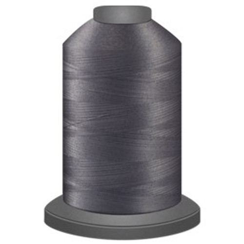 Glide - Cool Grey 7 - 10CG7 - Cone - 5000 yds - Trilobal Poly No. 40 Embroidery & Quilting Thread