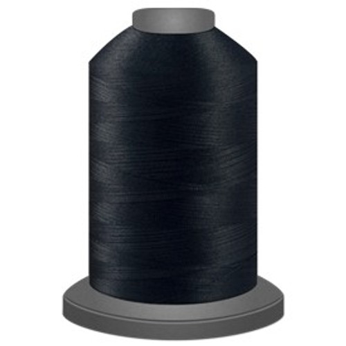 Glide - Black - 11001 - Cone - 5000 yds - Trilobal Poly No. 40 Embroidery & Quilting Thread