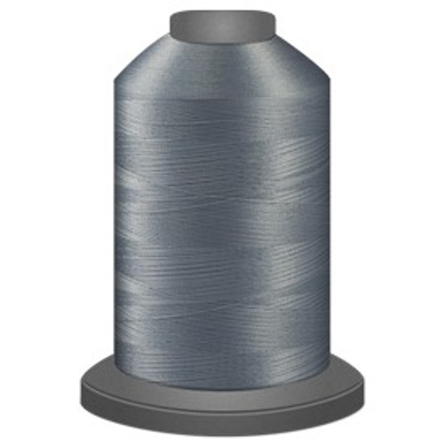 Glide - Light Grey - 17543 - Cone - 5000 yds - Trilobal Poly No. 40 Embroidery & Quilting Thread