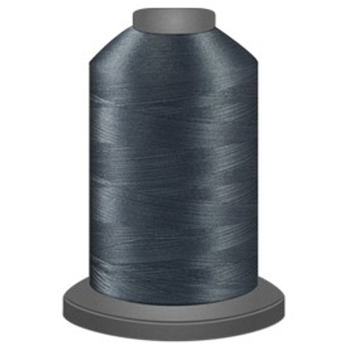Glide - Lead Grey - 1CG11 - Cone - 5000 yds - Trilobal Poly No. 40 Embroidery & Quilting Thread