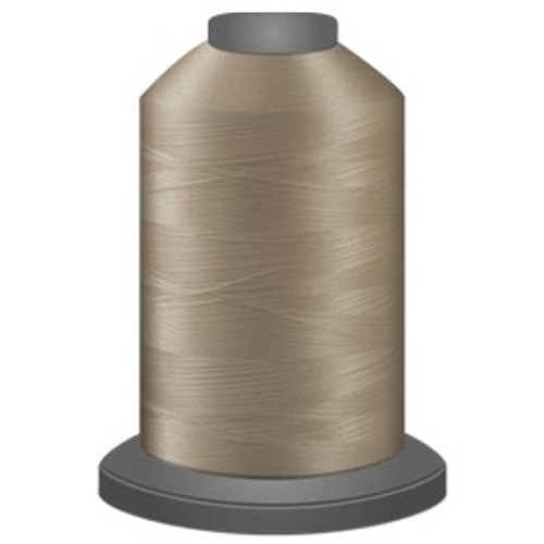 Glide - Cream - 20001 - Cone - 5000 yds - Trilobal Poly No. 40 Embroidery & Quilting Thread