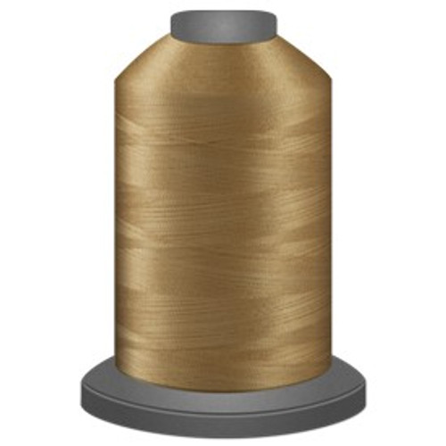 Glide - Sand - 20466 - Cone - 5000 yds - Trilobal Poly No. 40 Embroidery & Quilting Thread