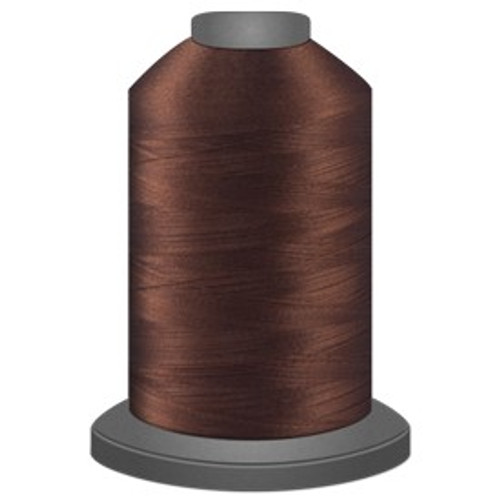Glide - Chocolate - 20469 - Cone - 5000 yds - Trilobal Poly No. 40 Embroidery & Quilting Thread
