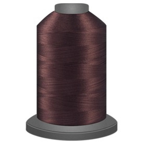Glide - Dark Brown - 20476 - Cone - 5000 yds - Trilobal Poly No. 40 Embroidery & Quilting Thread