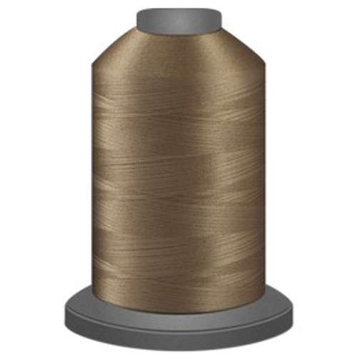 Glide - Mocha - 20727 - Cone - 5000 yds - Trilobal Poly No. 40 Embroidery & Quilting Thread