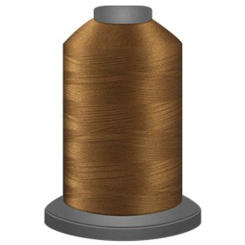 Glide - Light Copper - 20730 - Cone - 5000 yds - Trilobal Poly No. 40 Embroidery & Quilting Thread