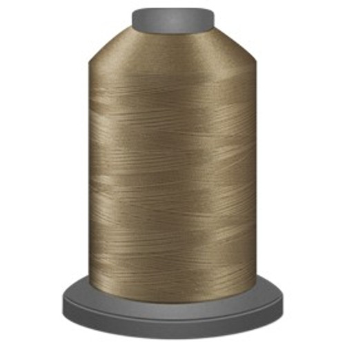 Glide - Khaki - 24525 - Cone - 5000 yds - Trilobal Poly No. 40 Embroidery & Quilting Thread