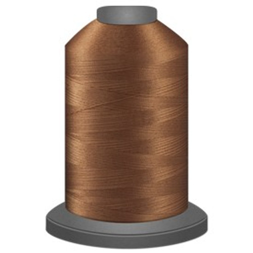 Glide - Bark - 24635 - Cone - 5000 yds - Trilobal Poly No. 40 Embroidery & Quilting Thread